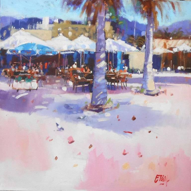 Ian  Elliot - Street Cafe, Mallorca
