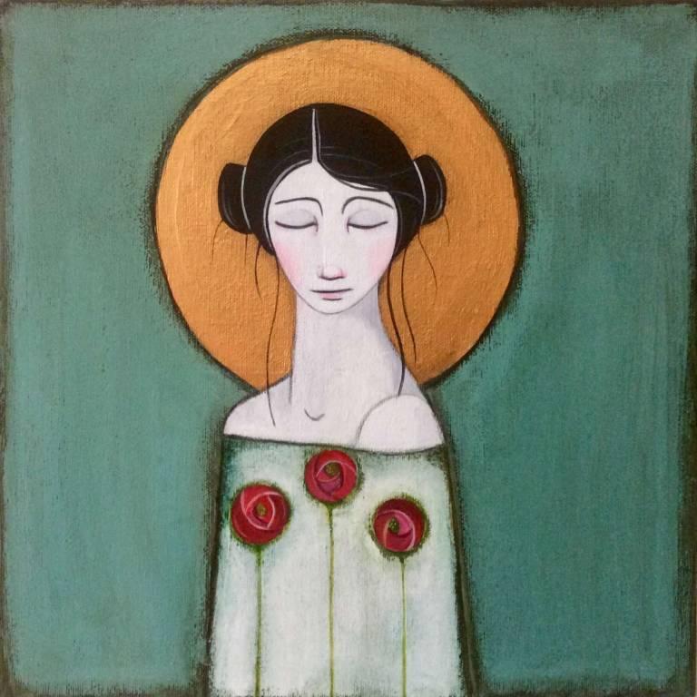 Jackie Henderson - Three Glasgow Roses