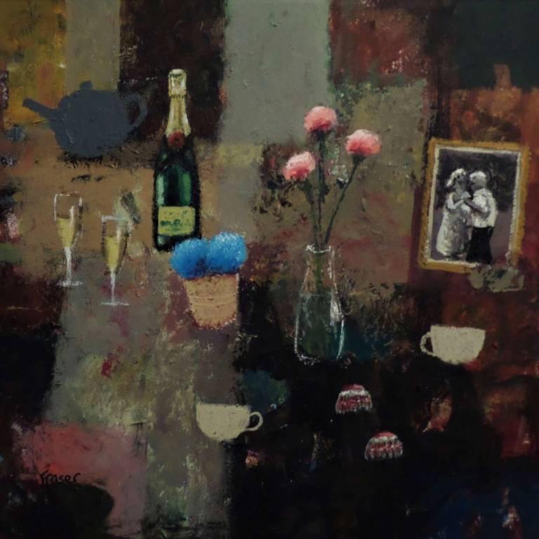 James Fraser RSW - Wine, Tea & 1,2,3