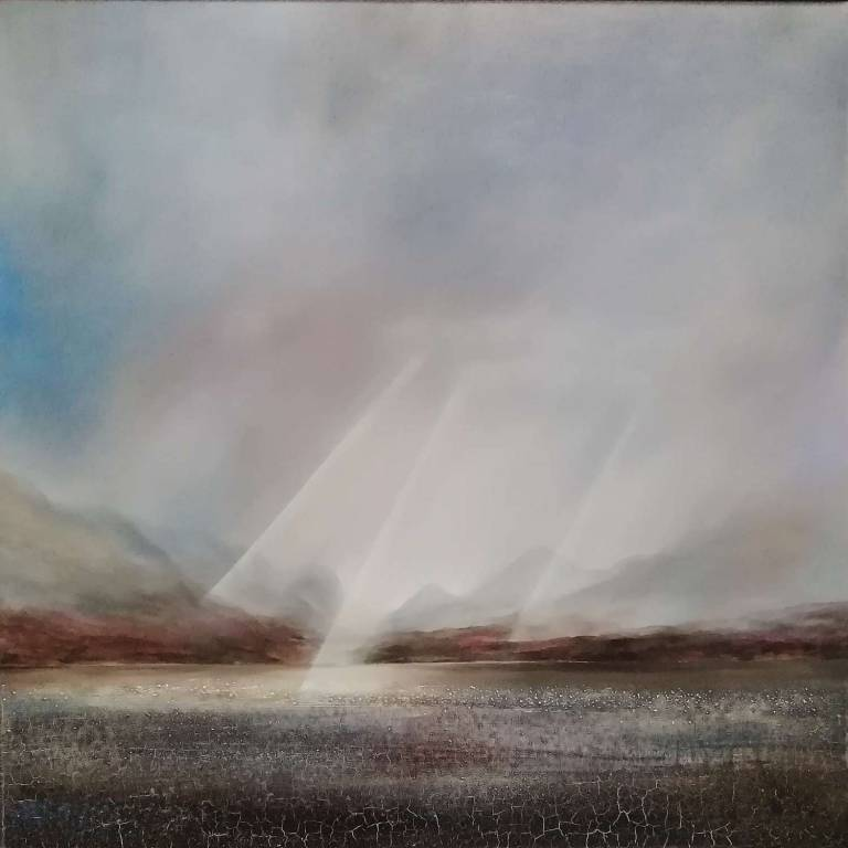 Peter Dworok - Cuillins From The Mainland