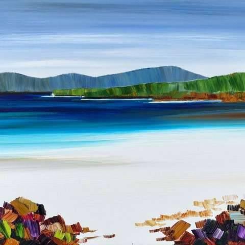 Sheila Fowler - Beach Rocks, Borve, Harris