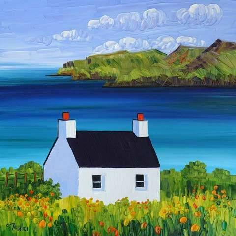Sheila Fowler - Cottage At Calgary Bay, Mull