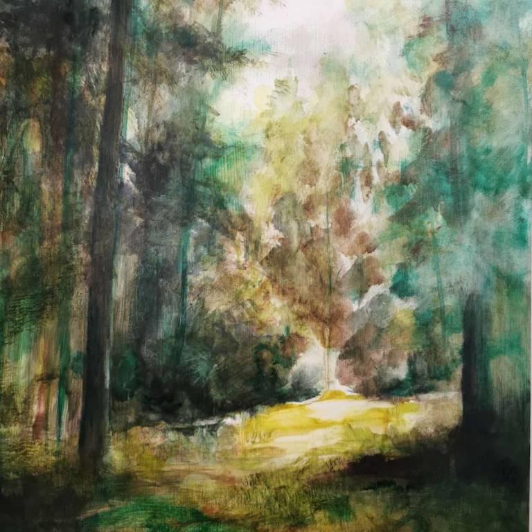 Susan Kennedy - Awash with Green