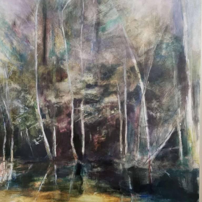 Susan Kennedy - Purple Reflection