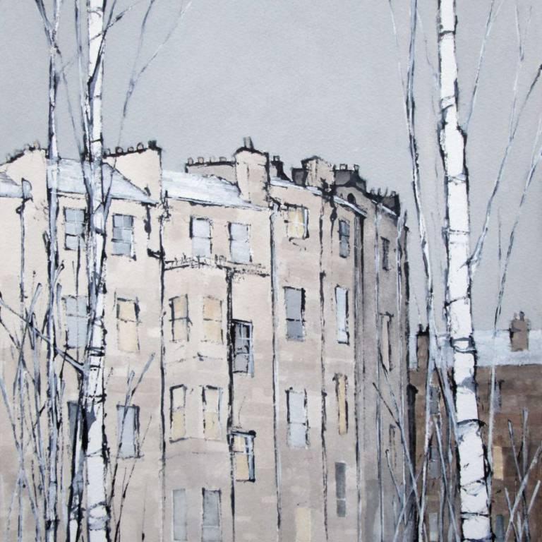 Dominic Cullen - Charing Cross, Snow II