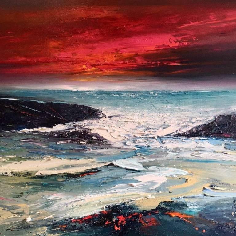 Linda Park - Waves on the Wester Ross Coastline