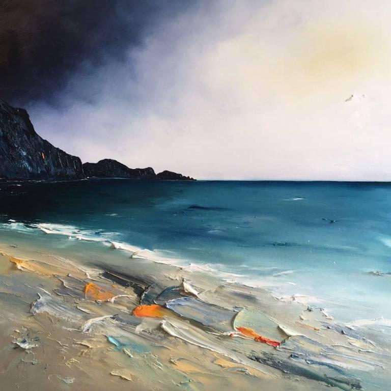 Linda Park - Textures on the Beach, Camas Daraich, Isle of Skye