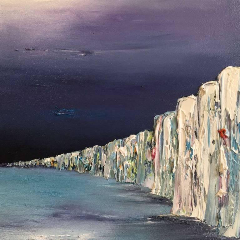 Linda Park - Last Light on the Cliffs, Normandy