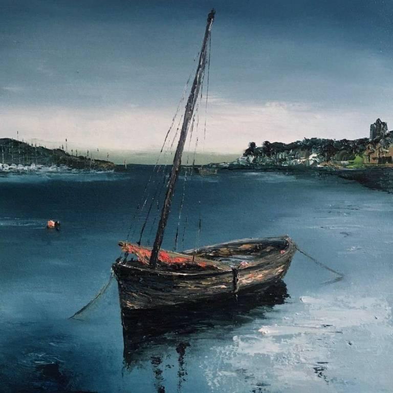 Quaint Little Boat, Tarbert Harbour