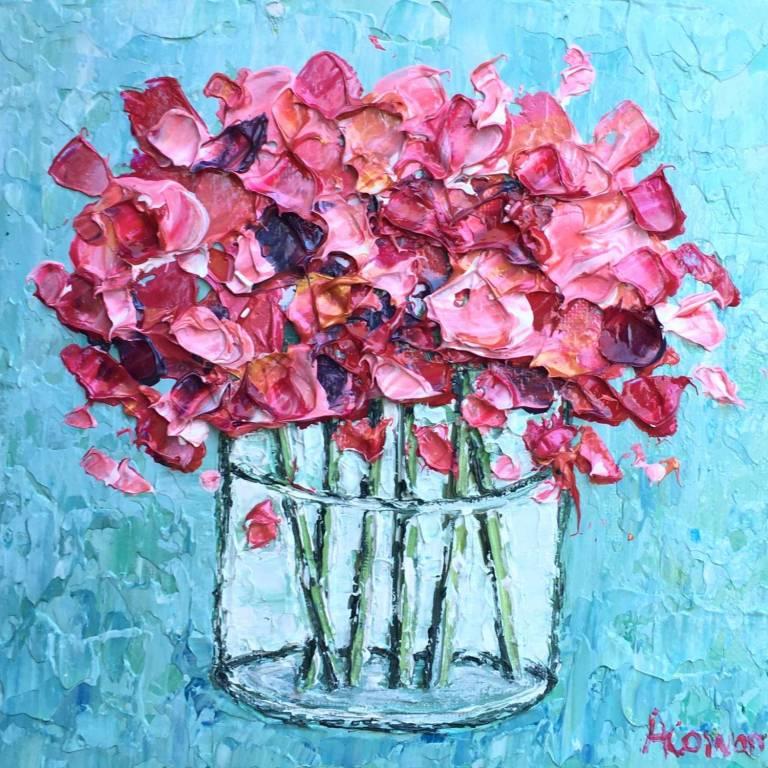 Alison Cowan - Coral Blooms