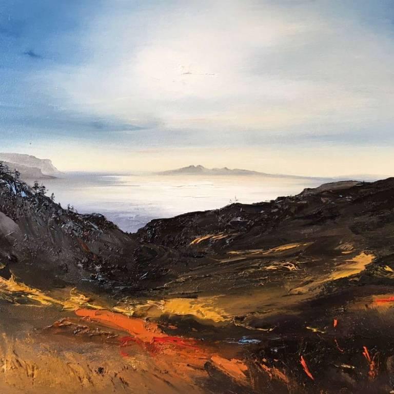 Walking To The Macleod's Maidens, Isle of Skye