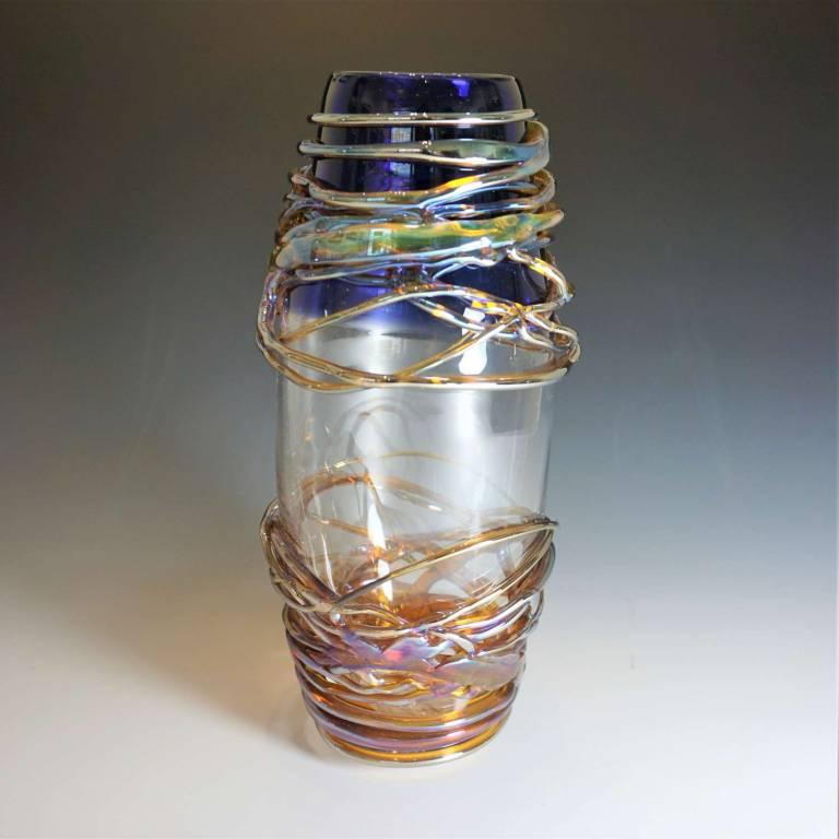 Medium Golden Trailing Vase