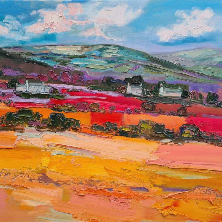 Judith I. Bridgland - Cottages In The Valley