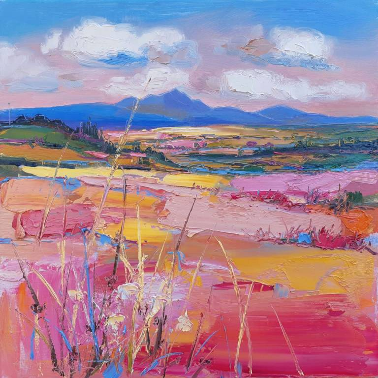 Judith I. Bridgland - View Of Ben Lomond Near Fintry