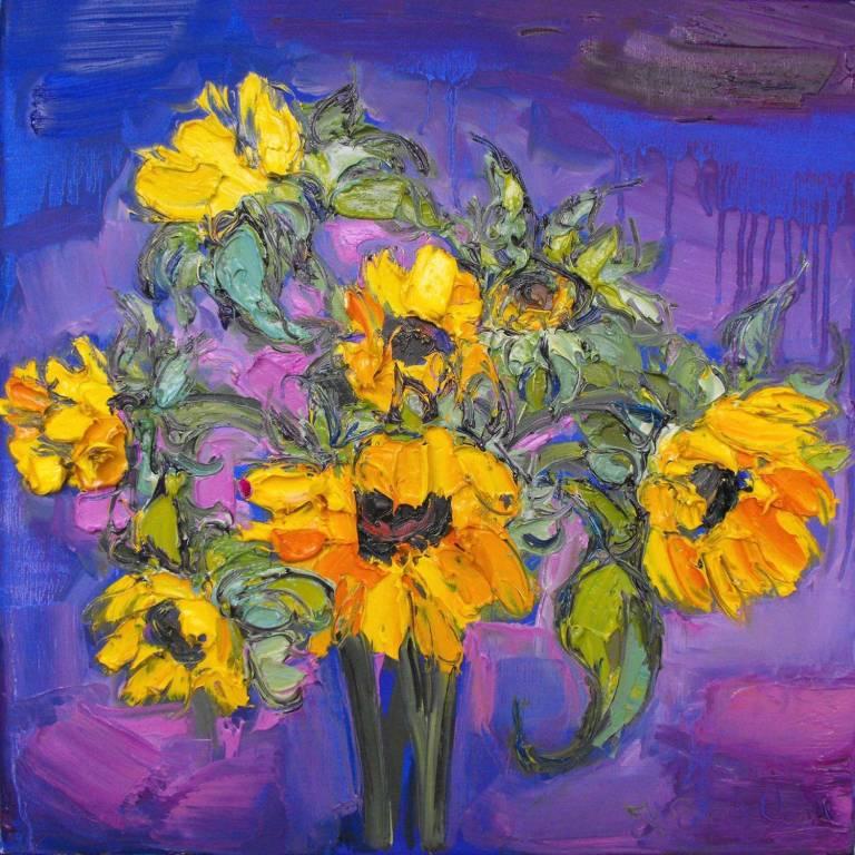 Judith I. Bridgland - Beautiful Sunflowers