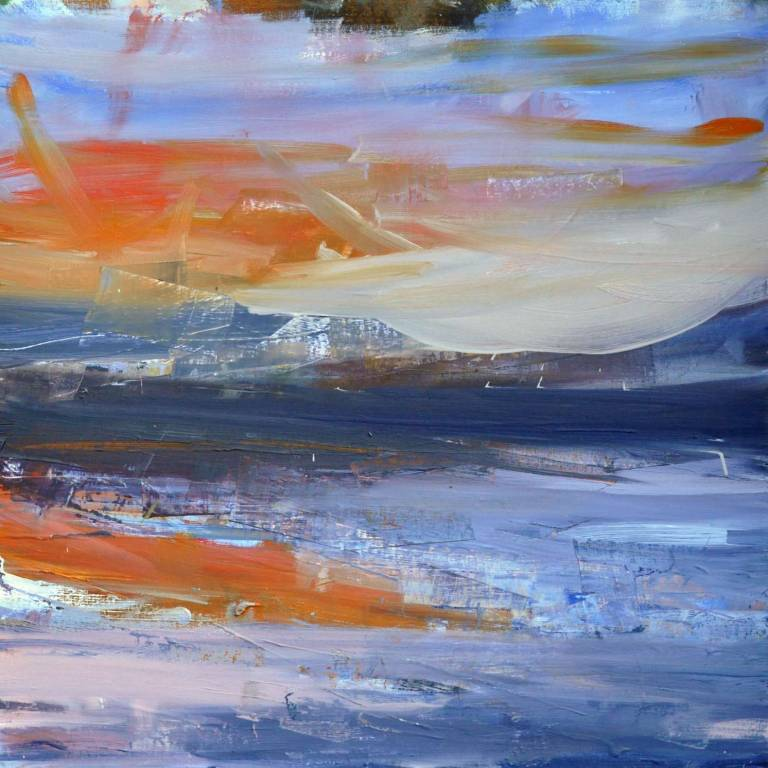 Mairi Clark - Late Sunset Over Raasay