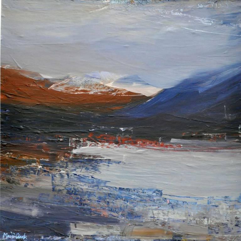 Mairi Clark - First Snow Loch Awe