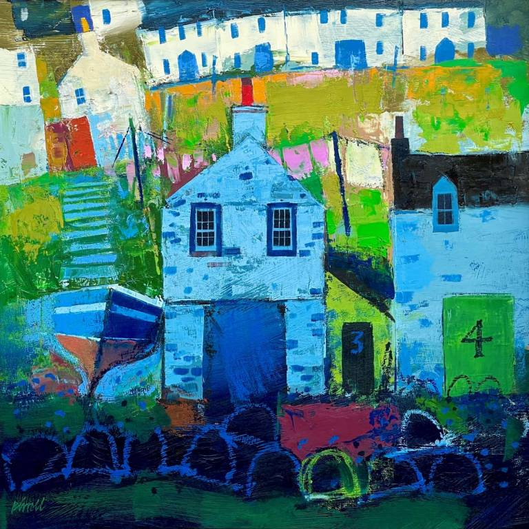 George Birrell - The Harbour Drying Green