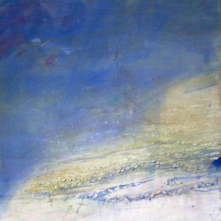 Claire Harkess RSW - Gannets, Troup Head
