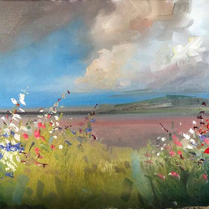 Rosanne Barr - Wildflowers Lining The Hedgerows