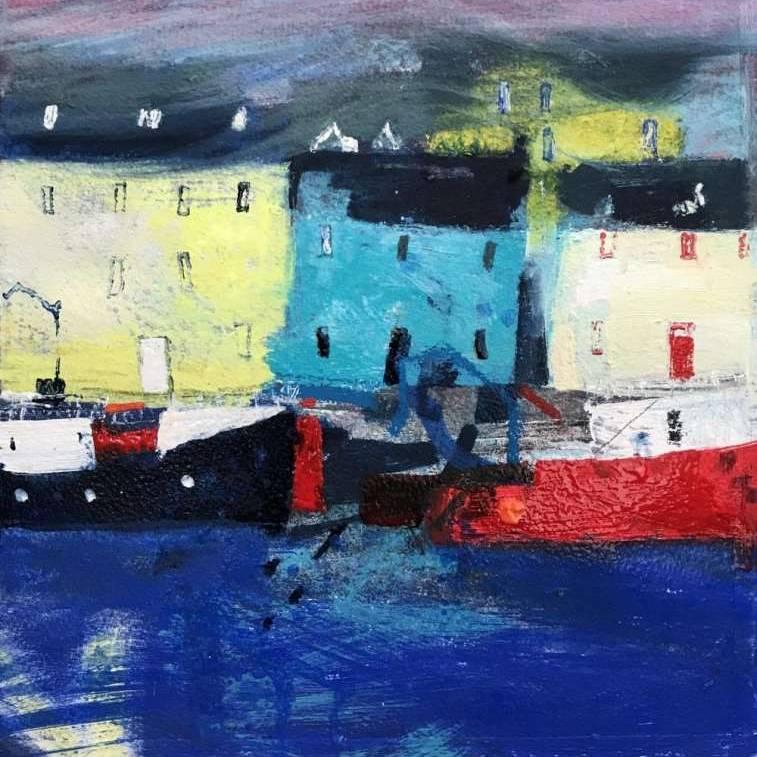 Caroline Bailey RSW - Christie's Wharf Stornoway