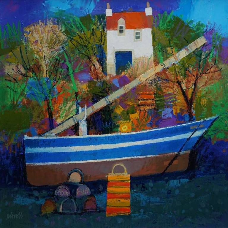 George Birrell - Blue Boat