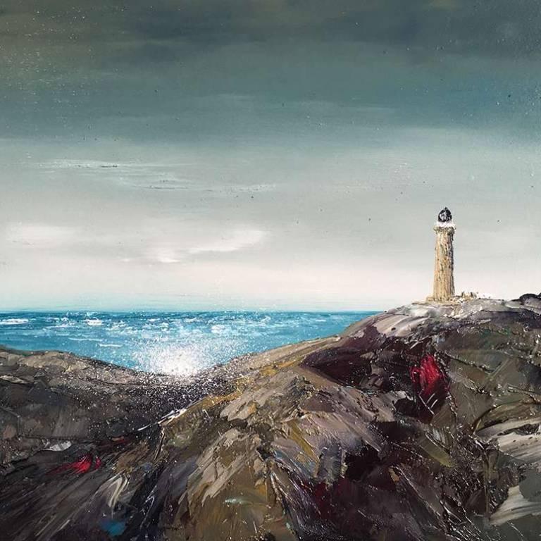 Solitude on the Rocks, Ardnamurchan Lighthouse