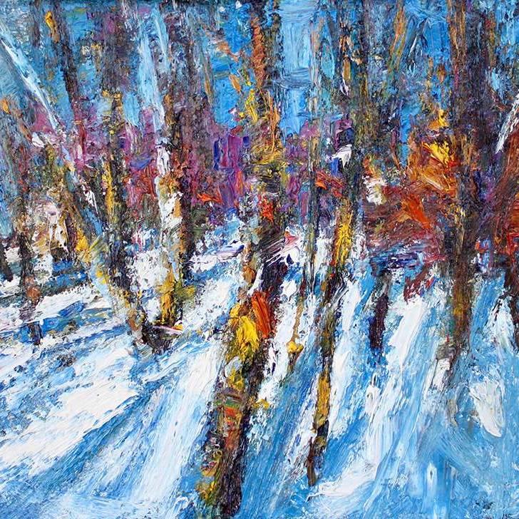 Sun & Shadows Early February