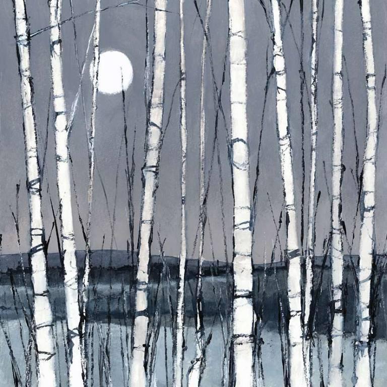 Dominic Cullen - Birch Trees, Winter