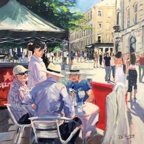 James Somerville Lindsay - Cafe Society, Buchanan Street