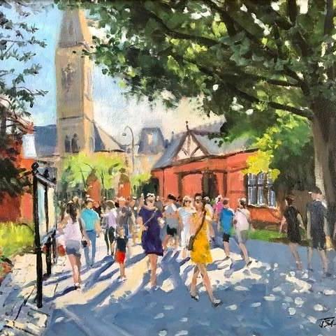 James Somerville Lindsay - Comings and Goings, Botanic Gardens