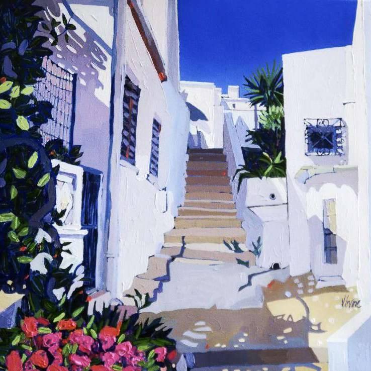 Jennifer Irvine RGI RSW - Afternoon Sun, The Algarve
