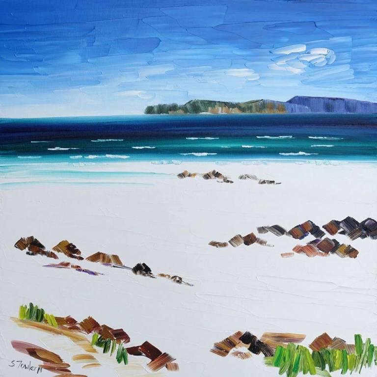 Sheila Fowler - Beach Rocks, Harris