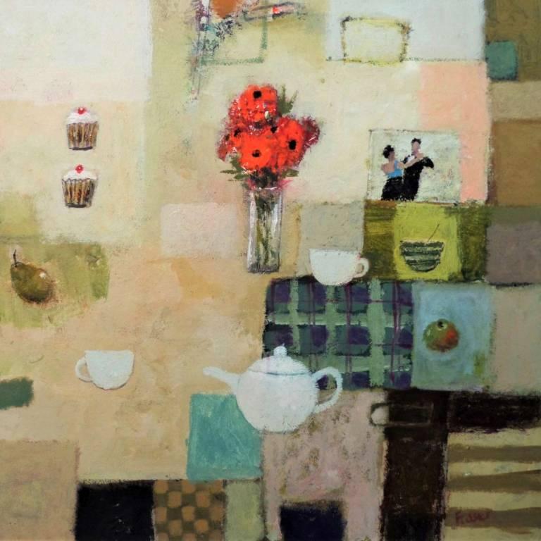 James Fraser RSW - Cakes, Tea & 1,2,3