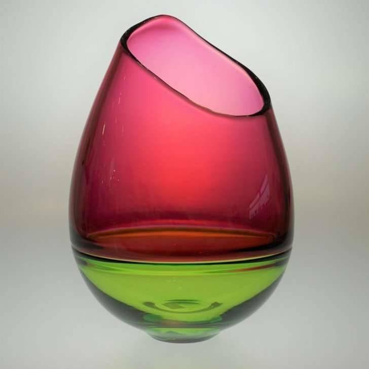 Small Oblique Vase