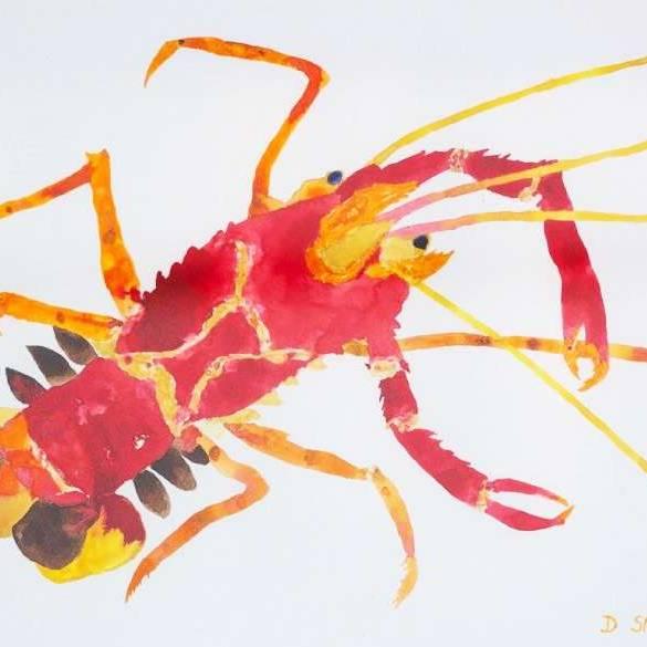 David Smith RSW - Common Crawfish
