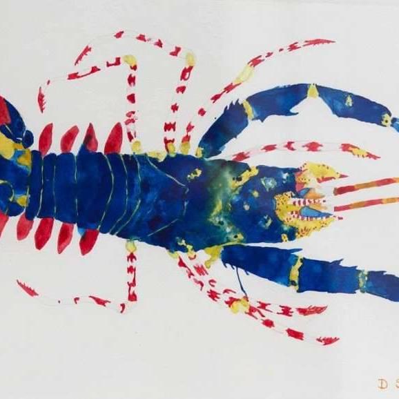 David Smith RSW - Spiny Lobster