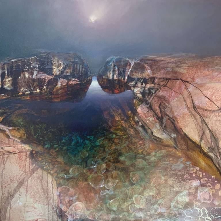 Beth Robertson Fiddes - Rock Pool Light Iona